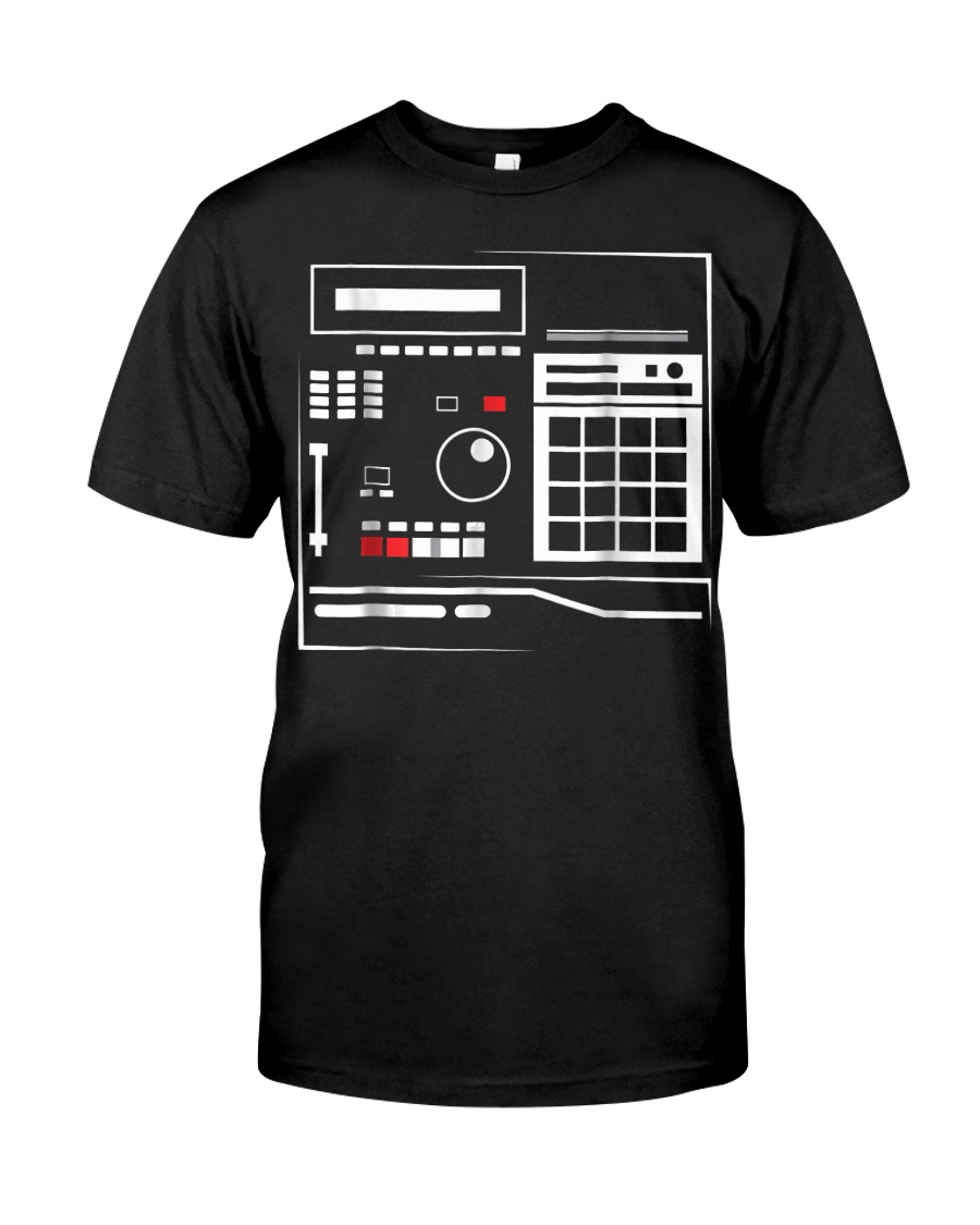 Mens MPC Drum Sampler Shirt Gifts Hiphop Mus Classic T-Shirt