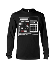 Mens MPC Drum Sampler Shirt Gifts Hiphop Mus Long Sleeve Tee tile