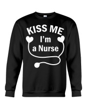 Kiss me I'm a Nurse Crewneck Sweatshirt tile