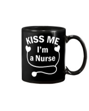 Kiss me I'm a Nurse Mug tile