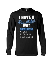 I have a beautiful wife Long Sleeve Tee thumbnail