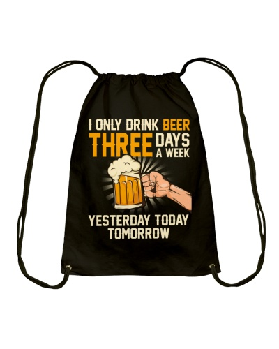 I only drink beer 3 days a week