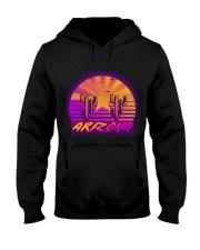 retro-design-arizona Hooded Sweatshirt thumbnail