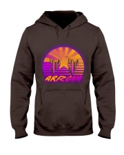 retro-design-arizona Hooded Sweatshirt front