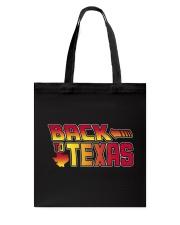 Back To Texas Tote Bag thumbnail