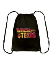 Back To Texas Drawstring Bag thumbnail