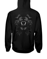 Only Fearless Can Dominate - Pawbelly Hooded Sweatshirt back