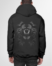 Only Fearless Can Dominate - Pawbelly Hooded Sweatshirt garment-hooded-sweatshirt-back-01