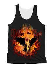 Murder the Crow band shirts All-over Unisex Tank thumbnail