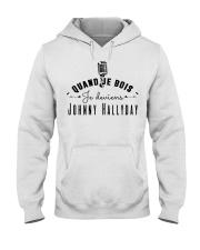 Quand je bois je deviens johnny Hooded Sweatshirt thumbnail