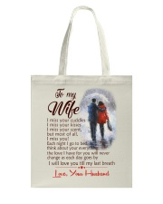 TO MY WIFE LOVE YOUR HUSBAND Tote Bag thumbnail