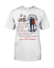 TO MY WIFE LOVE YOUR HUSBAND Premium Fit Mens Tee thumbnail