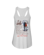 TO MY WIFE LOVE YOUR HUSBAND Ladies Flowy Tank thumbnail