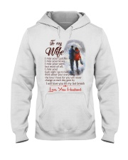 TO MY WIFE LOVE YOUR HUSBAND Hooded Sweatshirt thumbnail