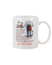 TO MY WIFE LOVE YOUR HUSBAND Mug thumbnail