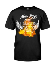 JH lamou Classic T-Shirt front