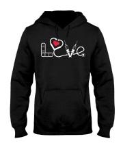 nurse LOVE Hooded Sweatshirt thumbnail