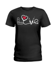 nurse LOVE Ladies T-Shirt thumbnail