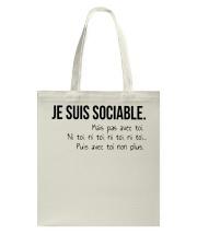 sociable Tote Bag thumbnail