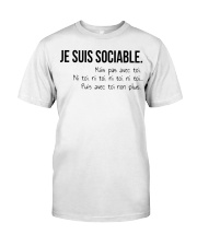 sociable Classic T-Shirt front