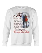 AMORE MIO CON AMORE LA TUA MOGLIE Crewneck Sweatshirt thumbnail
