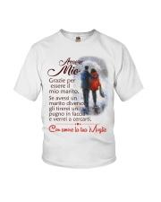 AMORE MIO CON AMORE LA TUA MOGLIE Youth T-Shirt thumbnail