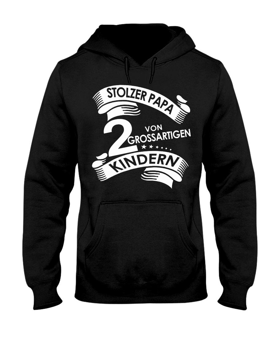 STOLZE PAPA 2 VON EINER GROSSARTIGEN KINDERN Hooded Sweatshirt