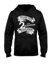 STOLZE PAPA 2 VON EINER GROSSARTIGEN KINDERN Hooded Sweatshirt front