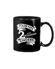 STOLZE PAPA 2 VON EINER GROSSARTIGEN KINDERN Mug thumbnail