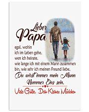 LIEBER PAPA VIETE GRIIBR DEIN KLEIENES MADCHEN 11x17 Poster front