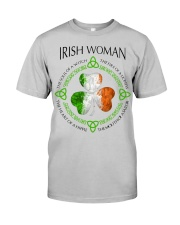 irish woman Classic T-Shirt front