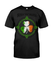 irish woman Classic T-Shirt tile