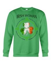 irish woman Crewneck Sweatshirt thumbnail