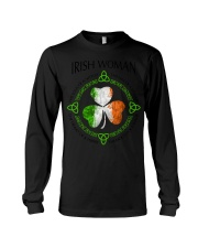 irish woman Long Sleeve Tee thumbnail