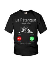 LA PETANQUE M'APPELE Youth T-Shirt thumbnail
