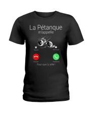 LA PETANQUE M'APPELE Ladies T-Shirt thumbnail