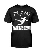 J'PEUX PAS J'AI HANDBALL Classic T-Shirt thumbnail