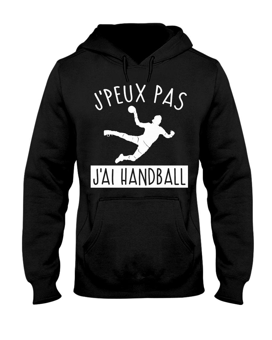 J'PEUX PAS J'AI HANDBALL Hooded Sweatshirt