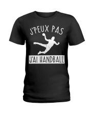 J'PEUX PAS J'AI HANDBALL Ladies T-Shirt thumbnail