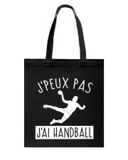 J'PEUX PAS J'AI HANDBALL Tote Bag thumbnail