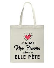 Femme Tote Bag thumbnail