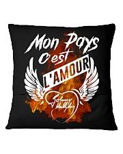 L'amour Square Pillowcase back
