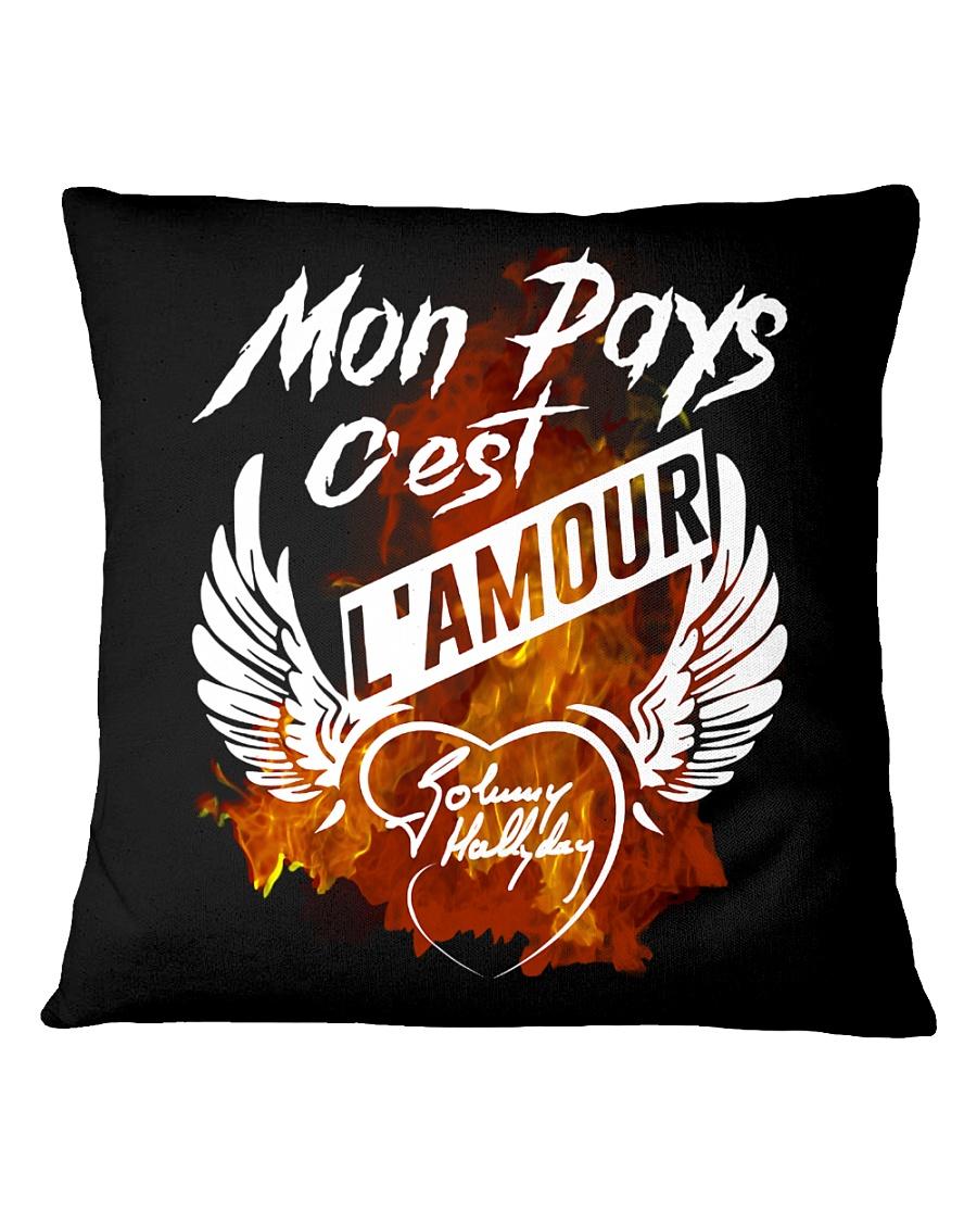 L'amour Square Pillowcase