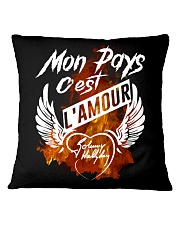 L'amour Square Pillowcase front