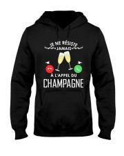 JE NE RESISTE A L'APPEL DU CHAMPAGNE Hooded Sweatshirt front