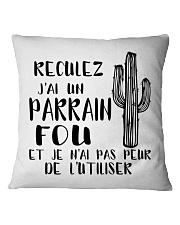 parrain- Square Pillowcase thumbnail