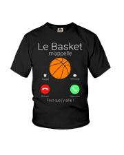 LA BASKET M'APPELE Youth T-Shirt thumbnail
