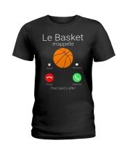 LA BASKET M'APPELE Ladies T-Shirt thumbnail