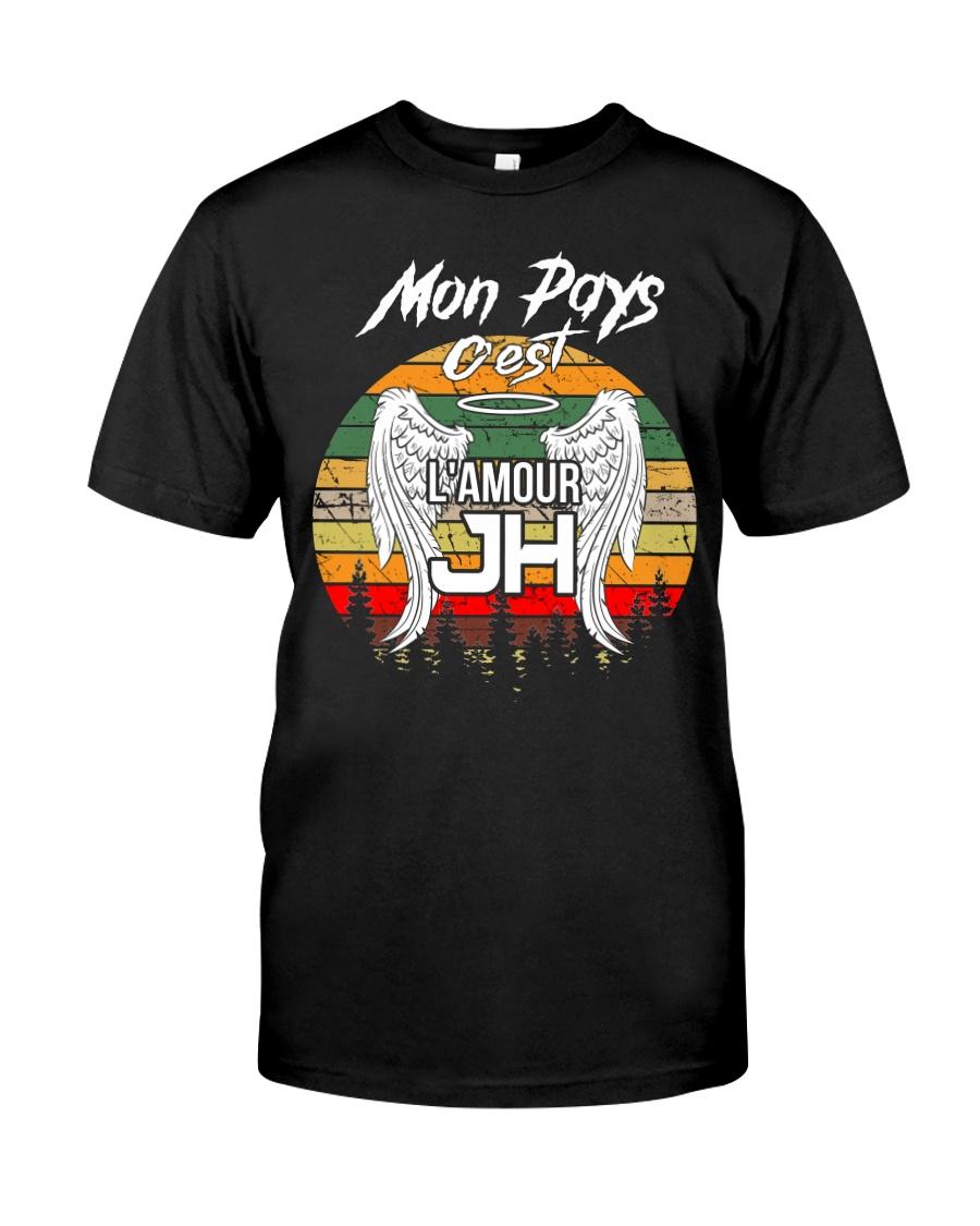 mon pays c'est l'amour JH Classic T-Shirt