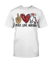 peace Love nursing Premium Fit Mens Tee thumbnail
